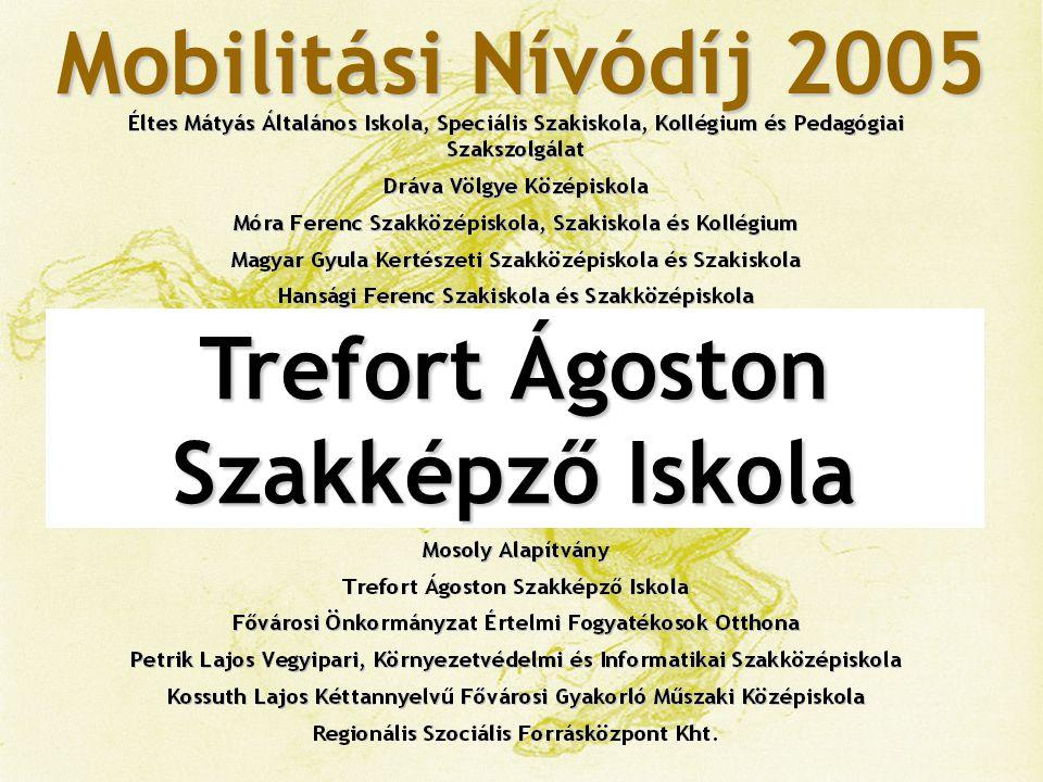 Mobilitási Nívódíj 2005 Fővárosi Önkormányzat Értelmi Fogyatékos Személyek Otthona