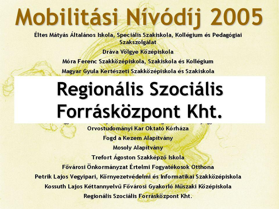 Mobilitási Nívódíj 2005
