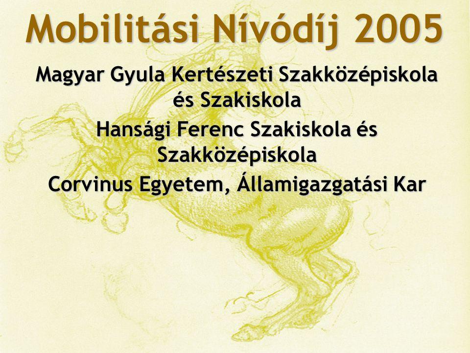 Mobilitási Nívódíj 2005 Mosoly Alapítvány