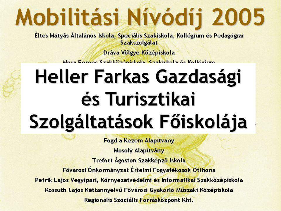 Mobilitási Nívódíj 2005 Corvinus Egyetem, Államigazgatási Kar