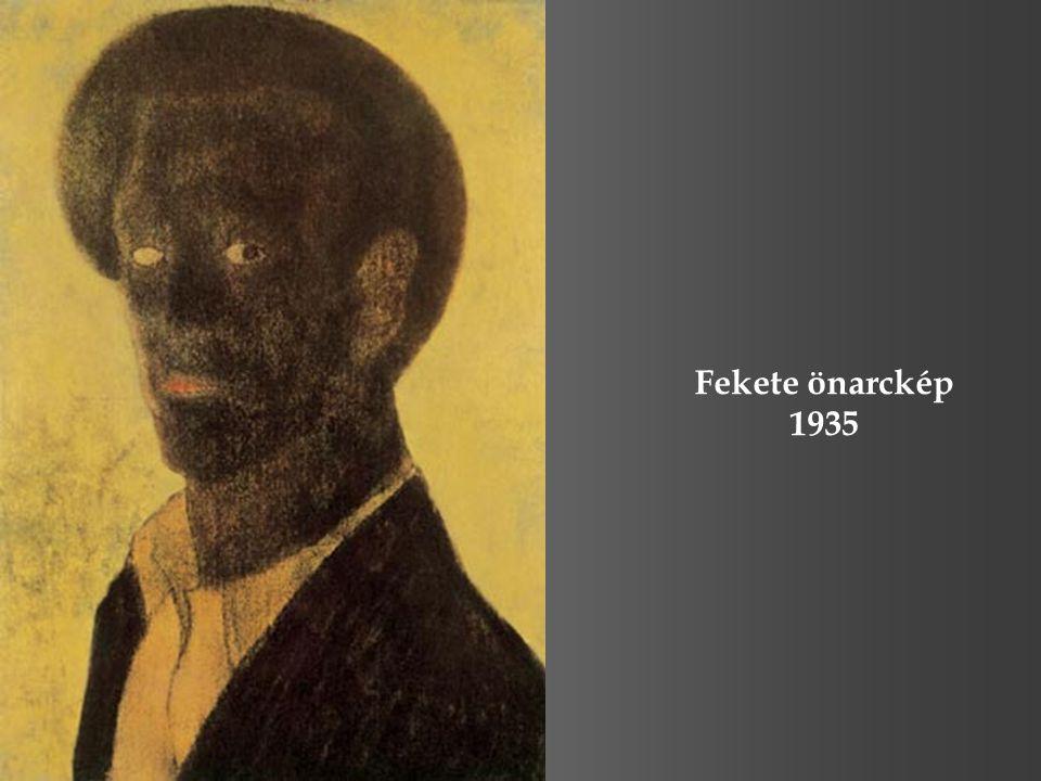 Fekete önarckép 1935