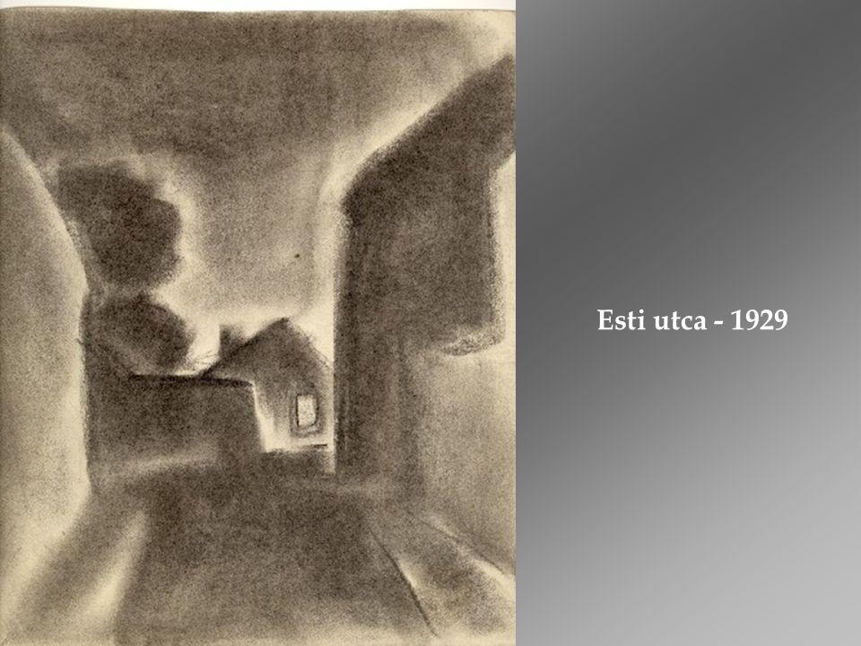1940.Vajda művészetének utolsó csúcsponti szakasza és záróakkordja.