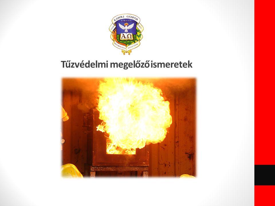 Tűzvédelmi megelőző ismeretek