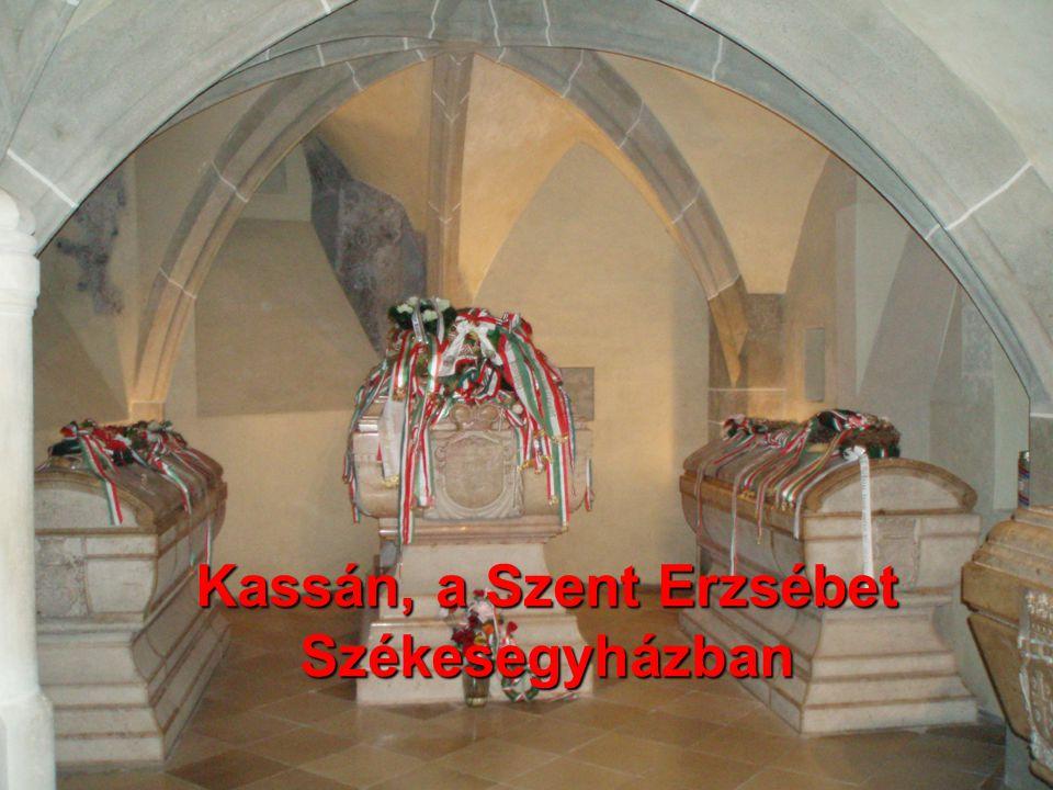 Rákóczi és kora Bodócs István történelem verseny 2011. december 16. 7. Hol készült a következő fénykép? Kassán, a Szent Erzsébet Székesegyházban