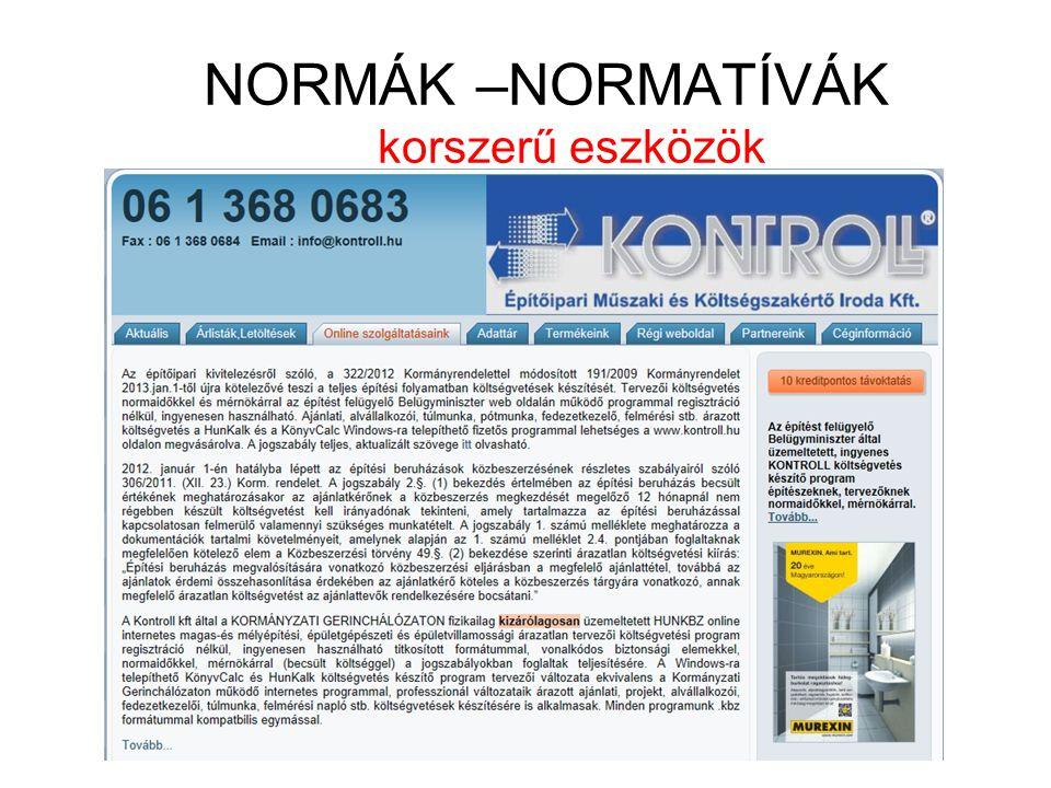 Az építőipari kivitelezésről szóló, a 322/2012 Kormányrendelettel módosított 191/2009 Kormányrendelet 2013.jan.1-től újra kötelezővé teszi a teljes építési folyamatban költségvetések készítését.
