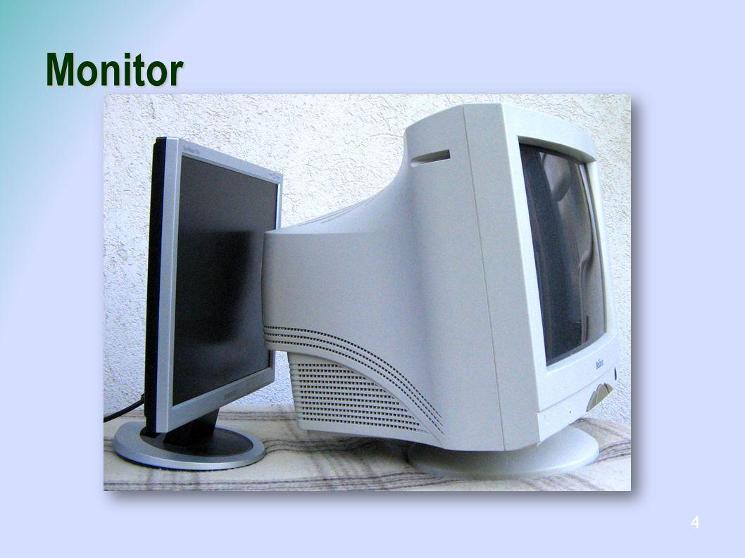 Monitor Képelőállítás alapján CRT ( Cathode Ray Tube), katódsugárcsöves LCD ( Liquid Cristal Display), folyadékkristályos TFT ( Thin FilmTransistor), vékonyfilm tranzisztor Plazma LED monitor  Projektor 5