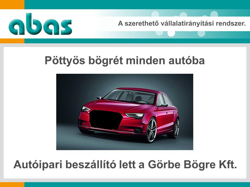 Pöttyös bögrét minden autóba Autóipari beszállító lett a Görbe Bögre Kft.