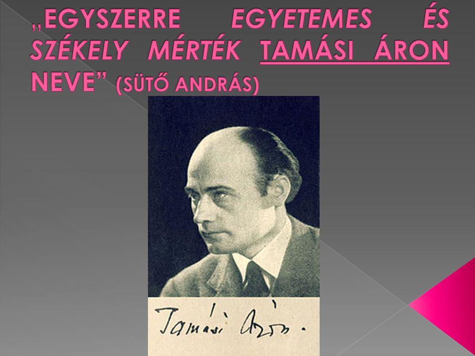 """ """"Az európaiság számomra, az író és a szellemi ember számára, semmi egyéb, mint érték és szellemi magatartás."""