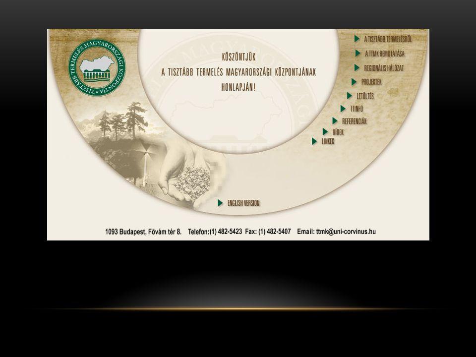 ÖKO-MÉRLEGEK KÉSZÍTÉSE Az öko-mérlegek készítése teljes körű anyag és energiamérlegek előállítását, valamint elemzését jelenti.