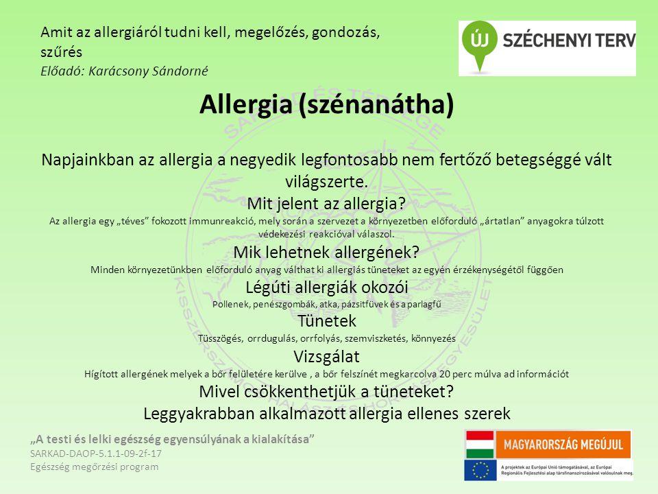 Az asztma Az EÜ világszervezet adatai szerint a Földön jelenleg 300 millió asztmás beteg él.