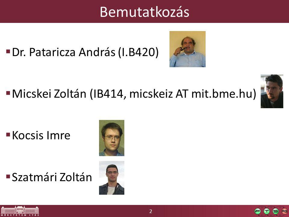 2 Bemutatkozás  Dr.