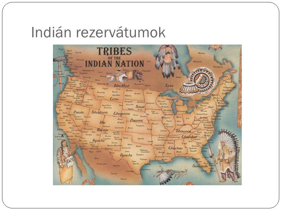 Indián rezervátumok