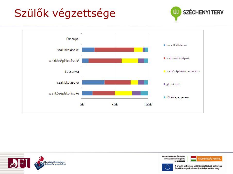 Térbeli mobilitás I.Lakóhely Mindössze 15% költözött másik településre.