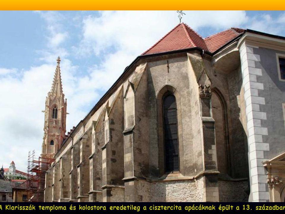 A gótikus Szent Márton dóm, székesegyház, az 1221-ben épült