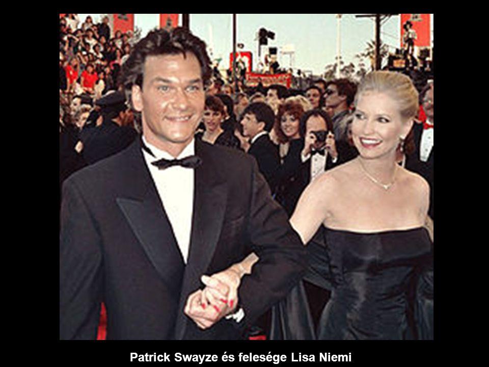 Patrick Swayze és felesége Lisa Niemi