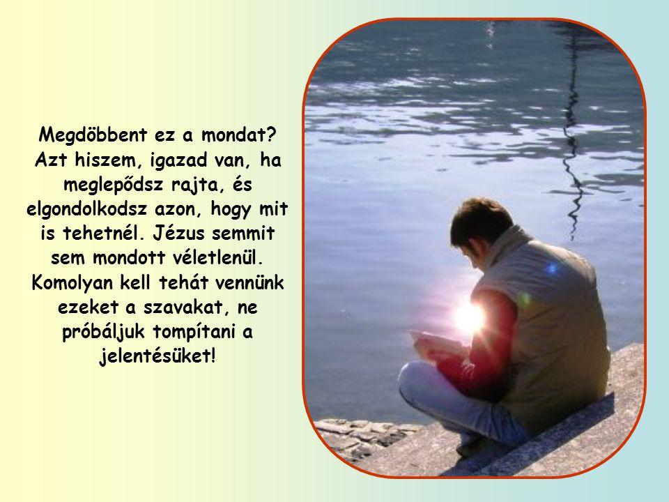 """""""Könnyebb a tevének átmenni a tű fokán, mint a gazdagnak bejutni az Isten országába. (Mt 19,24)"""
