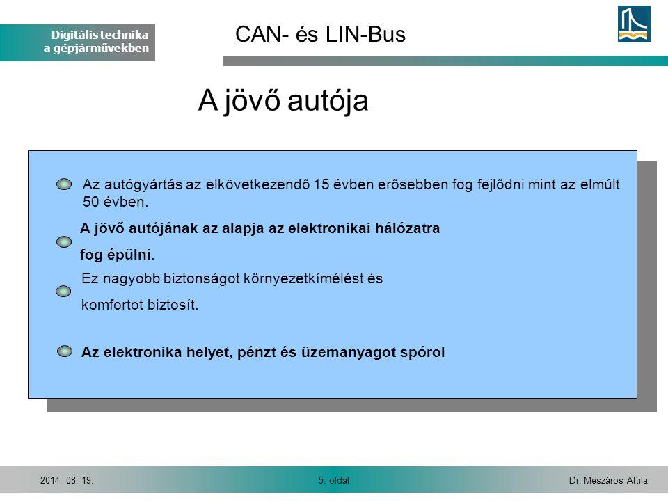 Digitális technika a gépjárművekben Dr.Mészáros Attila26.
