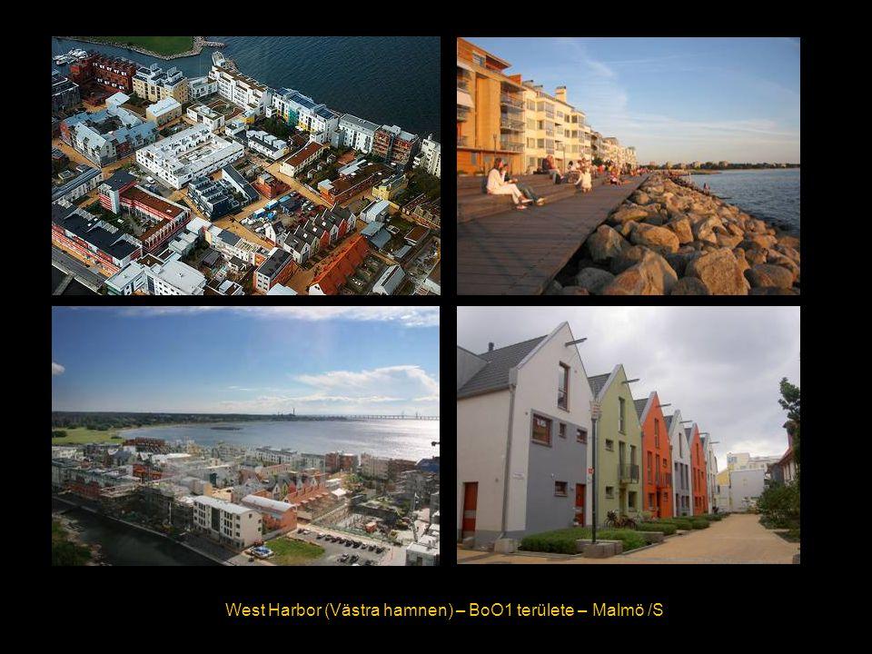 West Harbor (Västra hamnen) – BoO1 területe – Malmö /S