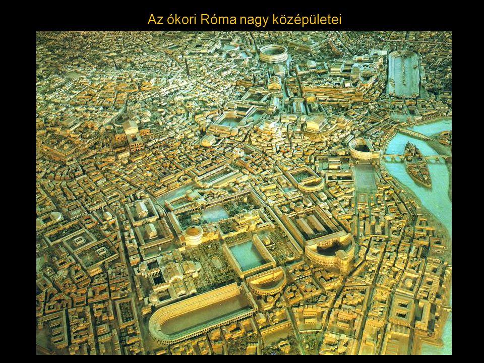 Az ókori Róma nagy középületei