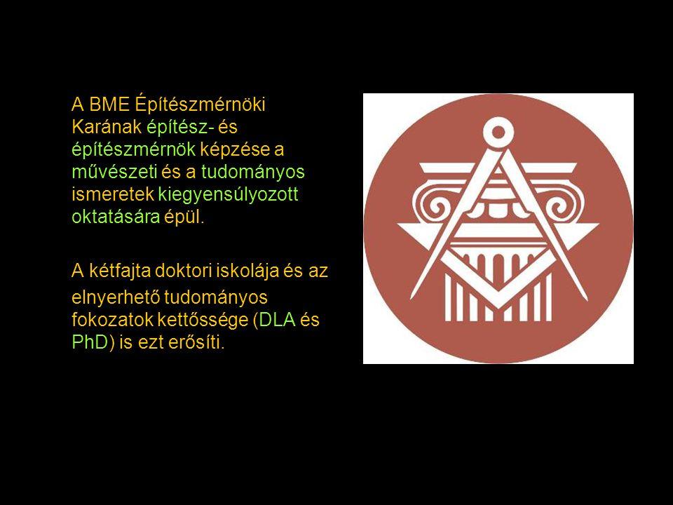 A BME Építészmérnöki Karának építész- és építészmérnök képzése a művészeti és a tudományos ismeretek kiegyensúlyozott oktatására épül. A kétfajta dokt