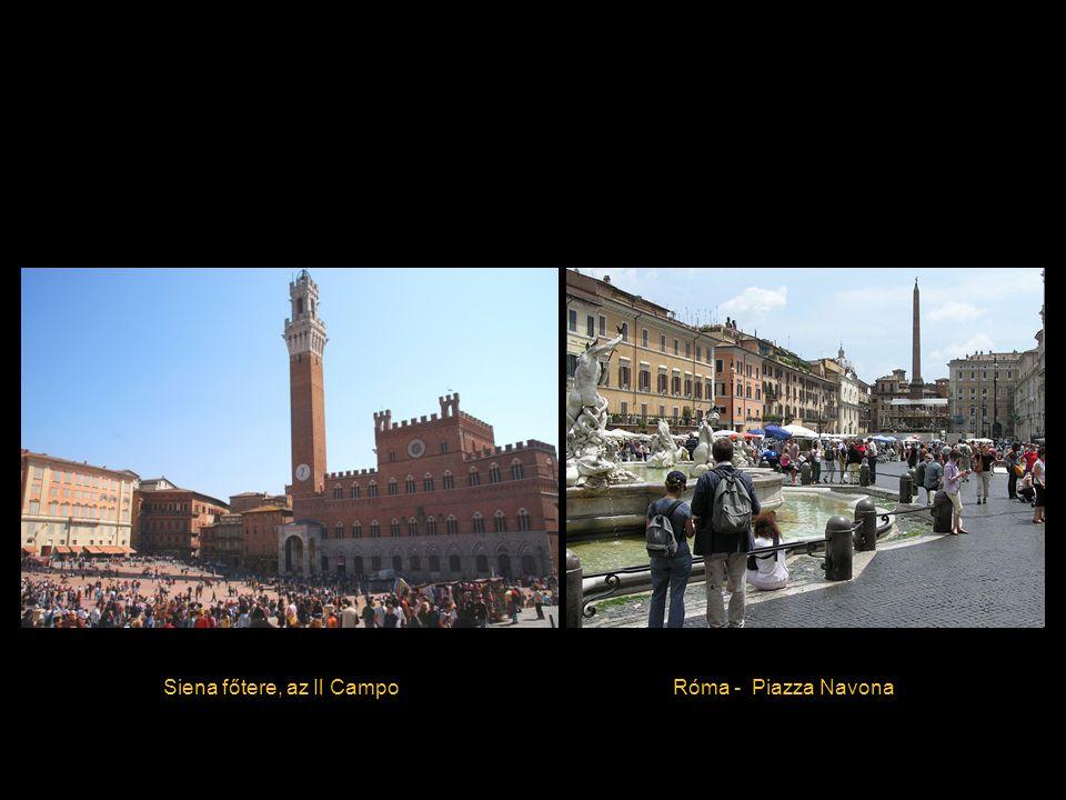 Siena főtere, az Il CampoRóma - Piazza Navona