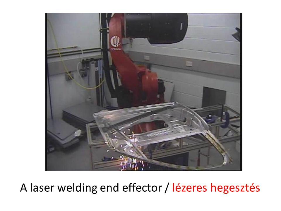 A laser welding end effector / lézeres hegesztés