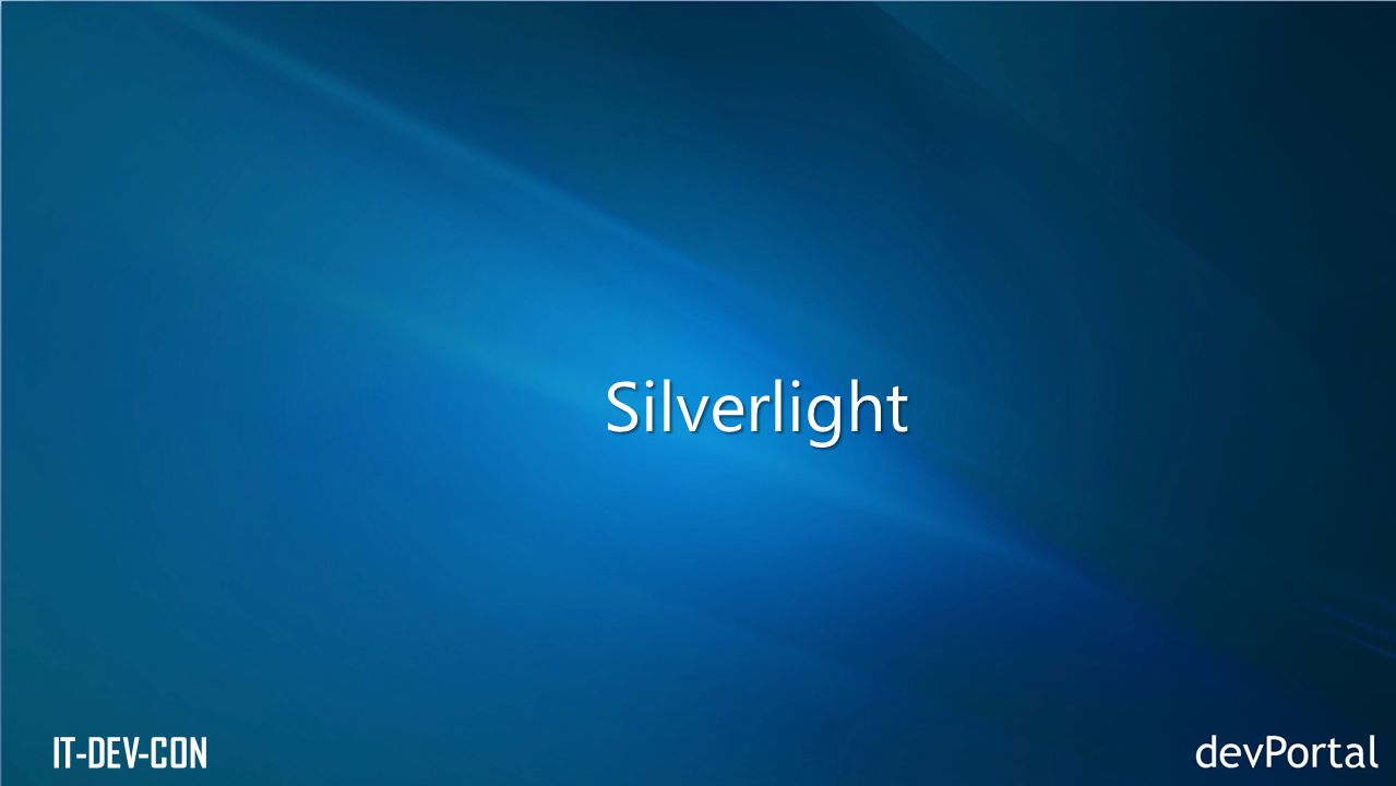 IT-DEV-CON Silverlight