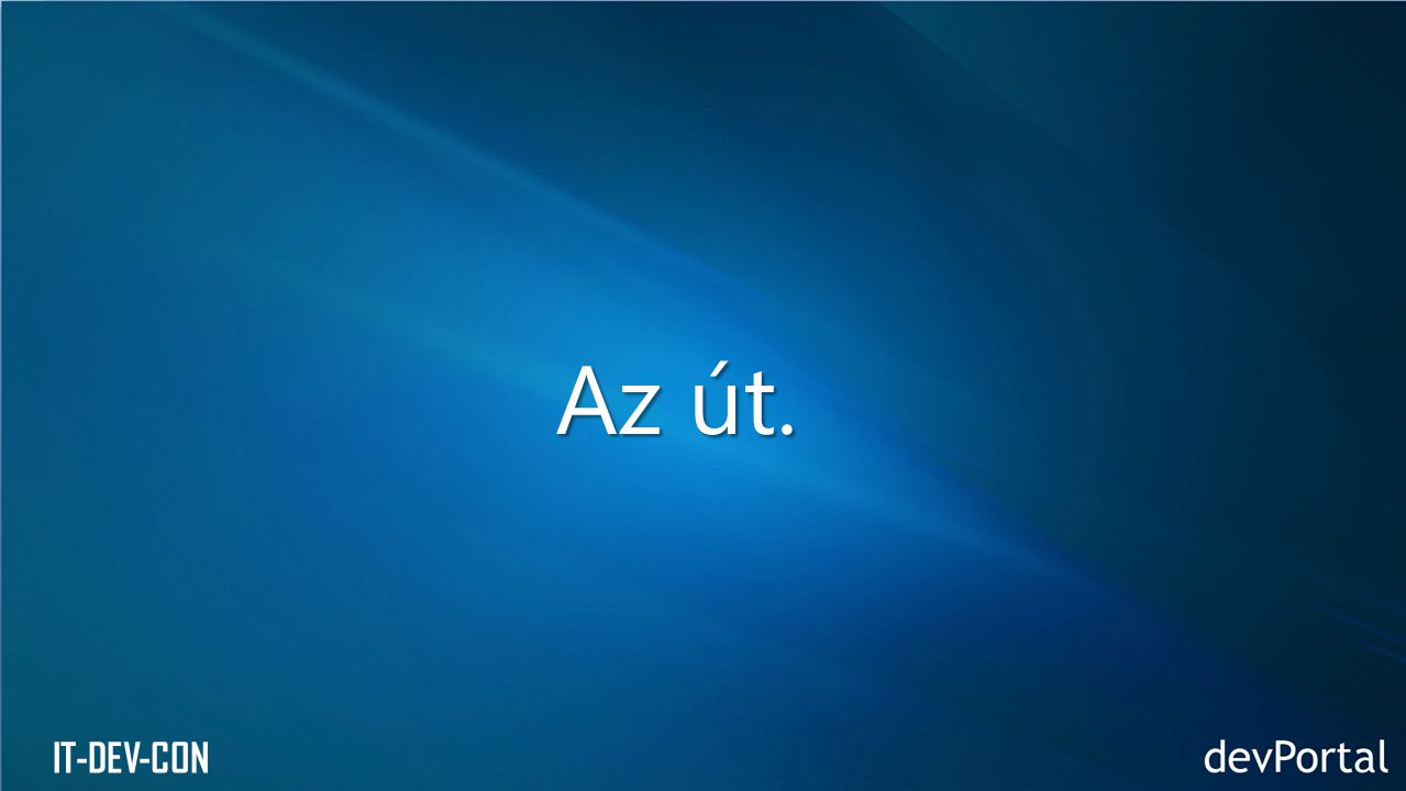 IT-DEV-CON Az út.