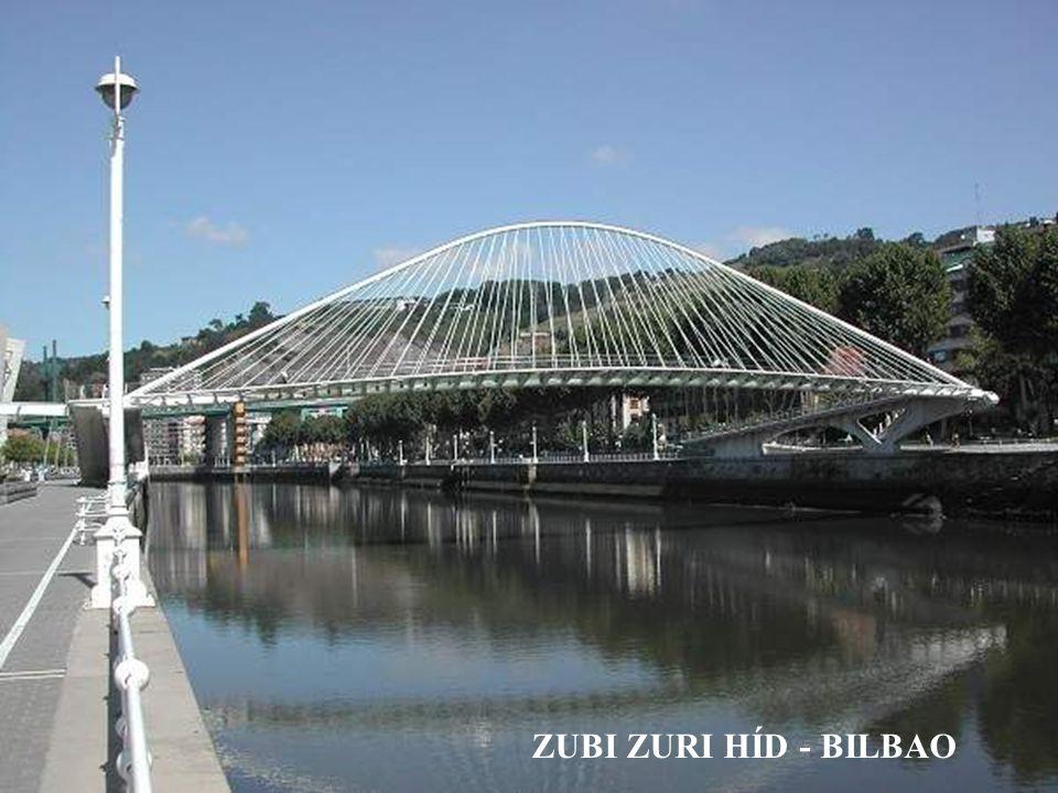 Zubi Zuri híd Bilbao, Spanyolország 1994 ÷ 1997