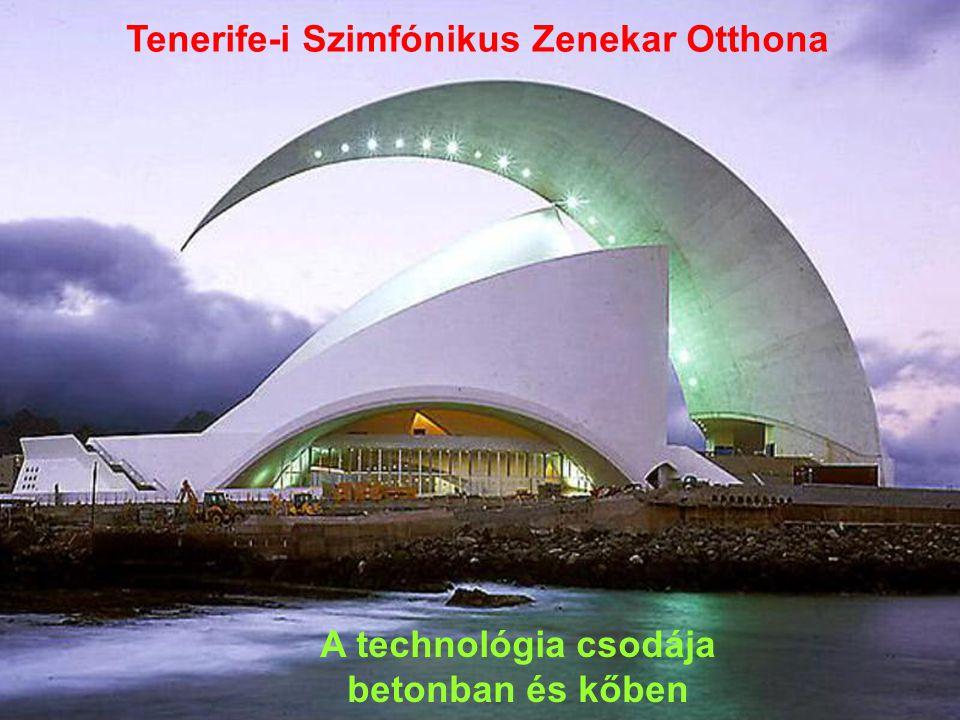 a Tenerife-i Szimfónikus Zenekar Otthona Santa Cruz, Spanyolország, 1991 ÷ 2003