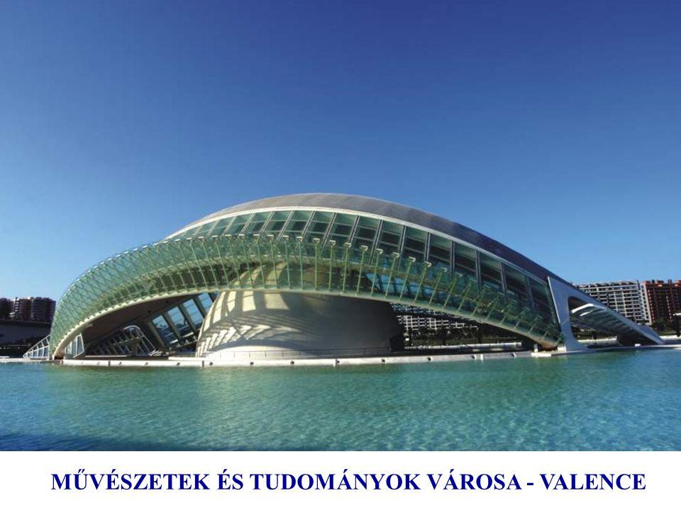 Művészeti és Természettudományi Múzeum Valence, Spanyolország, 1995 ÷ 2005