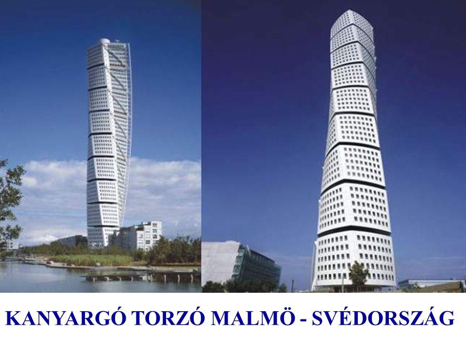 Kanyargó Torzó: Malmö, Svédország, 2001 ÷ 2005 Kanyargó Torzó elnyerte Cannes-ben 2005-ben az MIPIM díjat, a legjobb lakó épületként. CannesMIPIM Az e