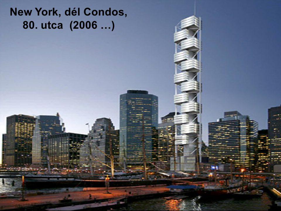 New York-i Kereskedelmi Központról (2006 …) 2004. Január 22. Santiago Calatrava bemutatja elképzelését