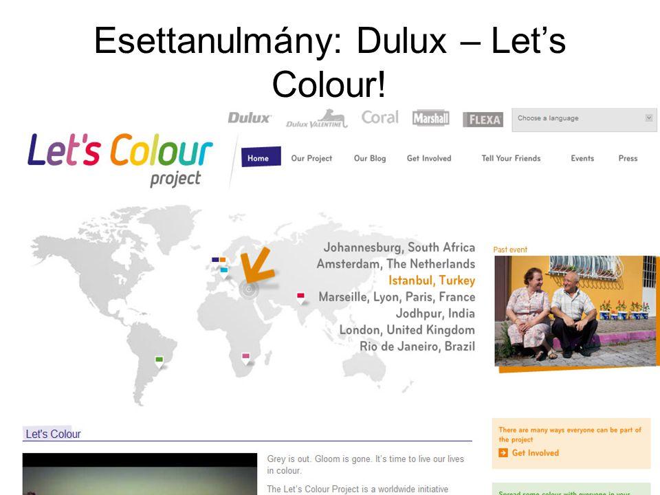 Esettanulmány: Dulux – Let's Colour!