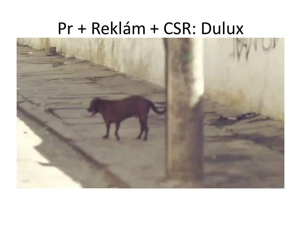 Pr + Reklám + CSR: Dulux