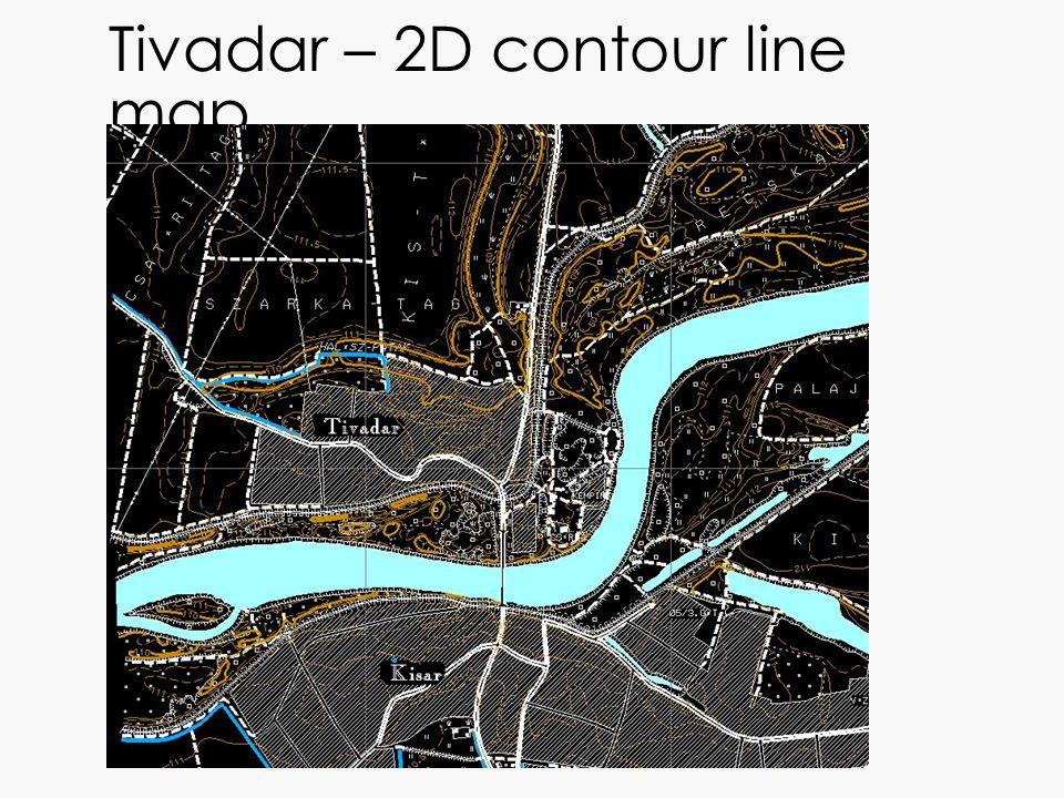 Tivadar – 2D contour line map