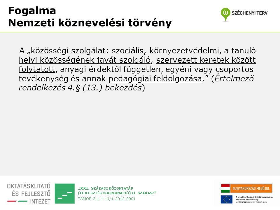 """""""XXI. S ZÁZADI KÖZOKTATÁS ( FEJLESZTÉS KOORDINÁCIÓ ) II."""
