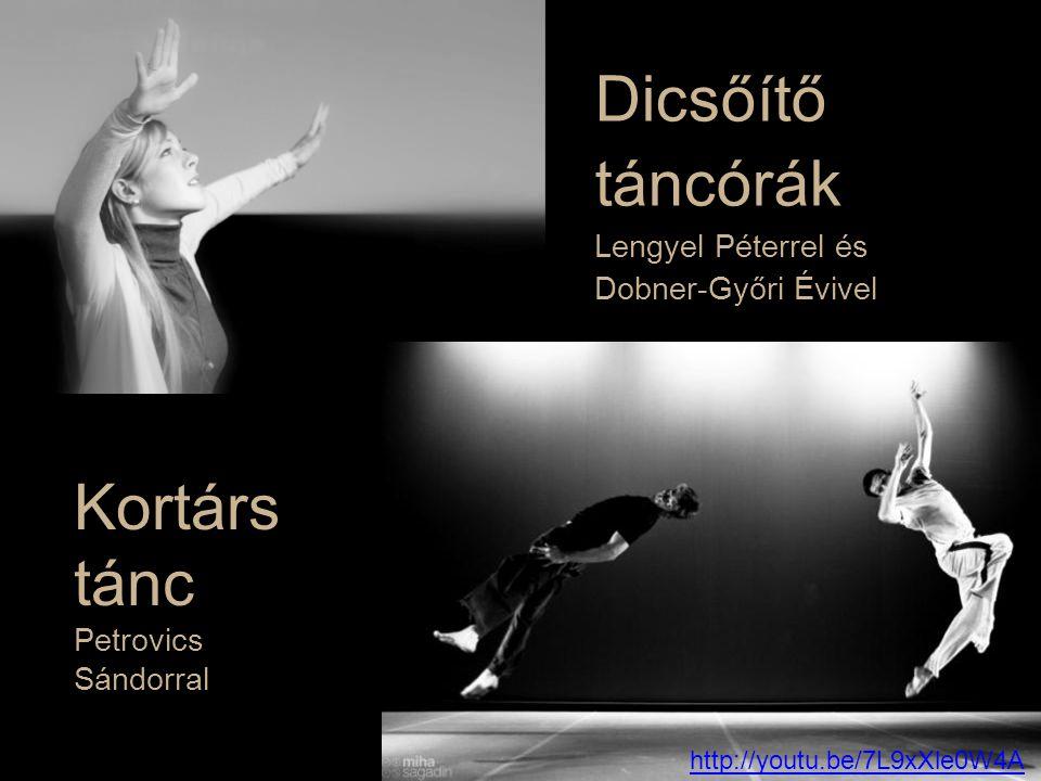 Dicsőítő táncórák Lengyel Péterrel és Dobner-Győri Évivel Kortárs tánc Petrovics Sándorral http://youtu.be/7L9xXle0W4A