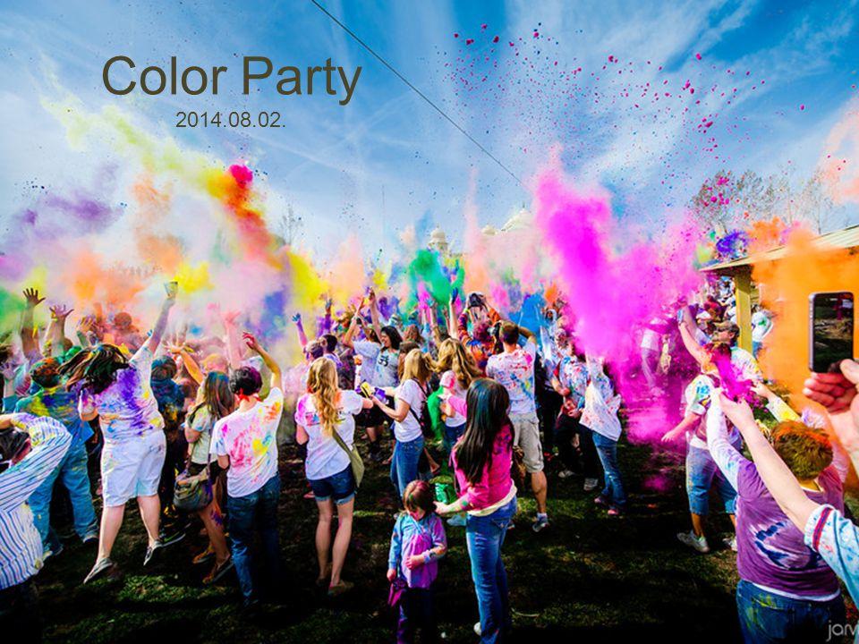 Táncsátor Color Party 2014.08.02.