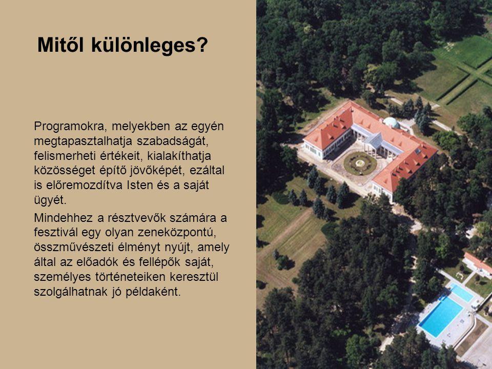 A helyszín Vajta egy kis falu az ország szívében, Budapesttől 120 km távolságra dél felé haladva.