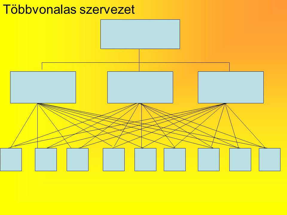 A szervezeti alapformák a felépítés szerint 1.Lineáris 2.Funkcionális 3.Divizionális 4.mátrix