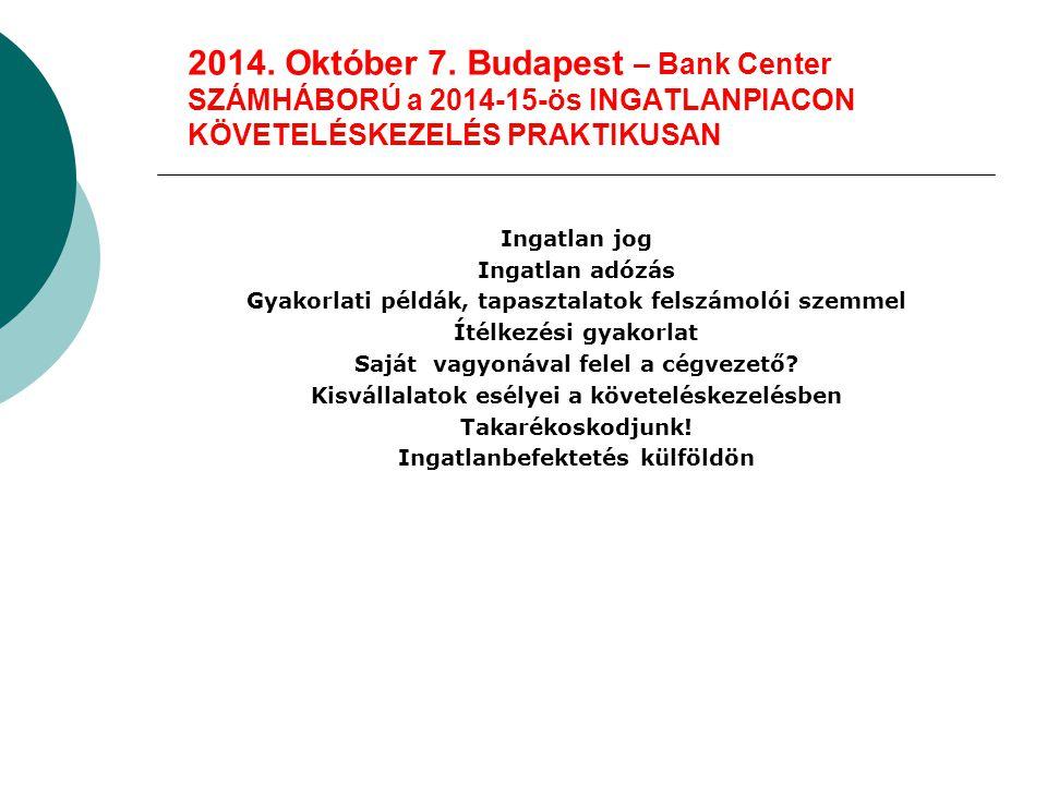 2014.November 13. 09.00-15.30.