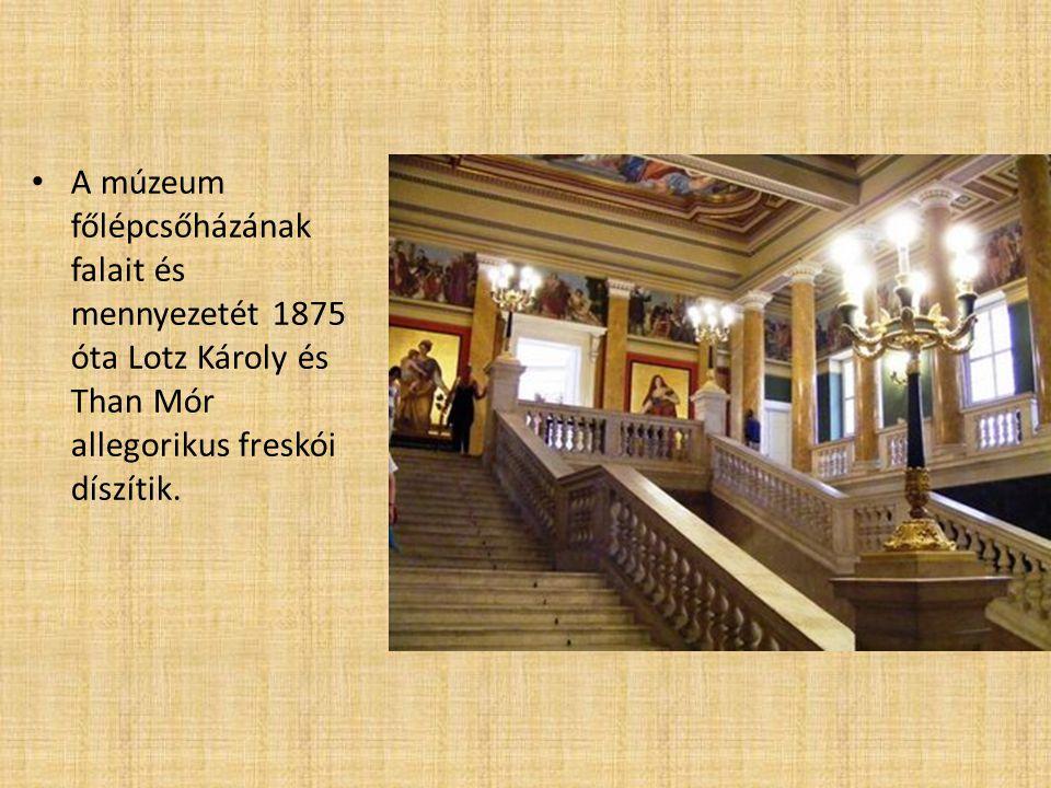 Az 1848-as forradalom A Nemzeti Múzeum épülete nem csupán a legfontosabb nemzeti gyűjtemény befogadó helye, hanem a nemzeti szabadság jelképe is.