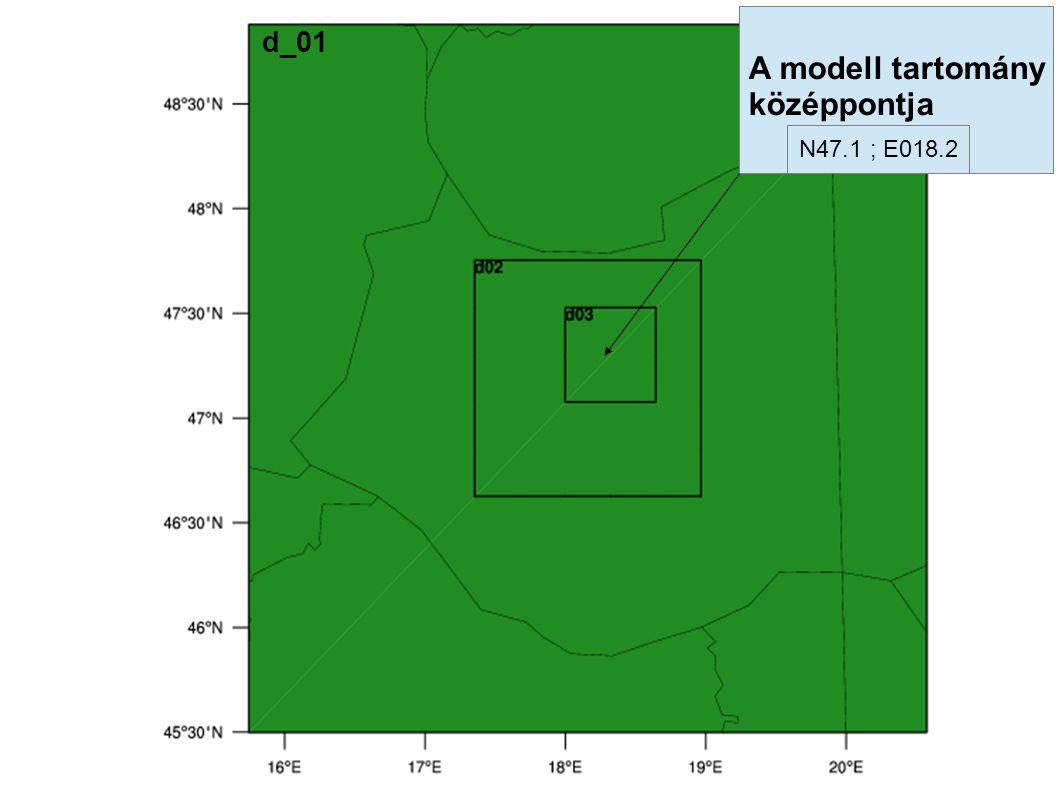 N47.1 ; E018.2 d_01 A modell tartomány középpontja