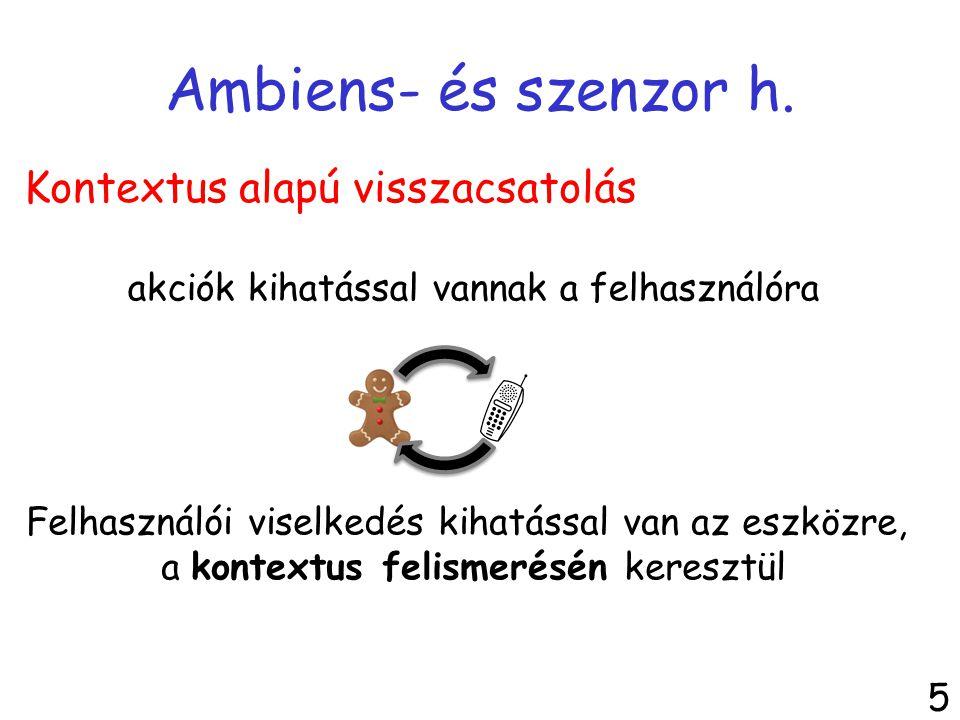 Ambiens: + helyi kapcsolatok 6