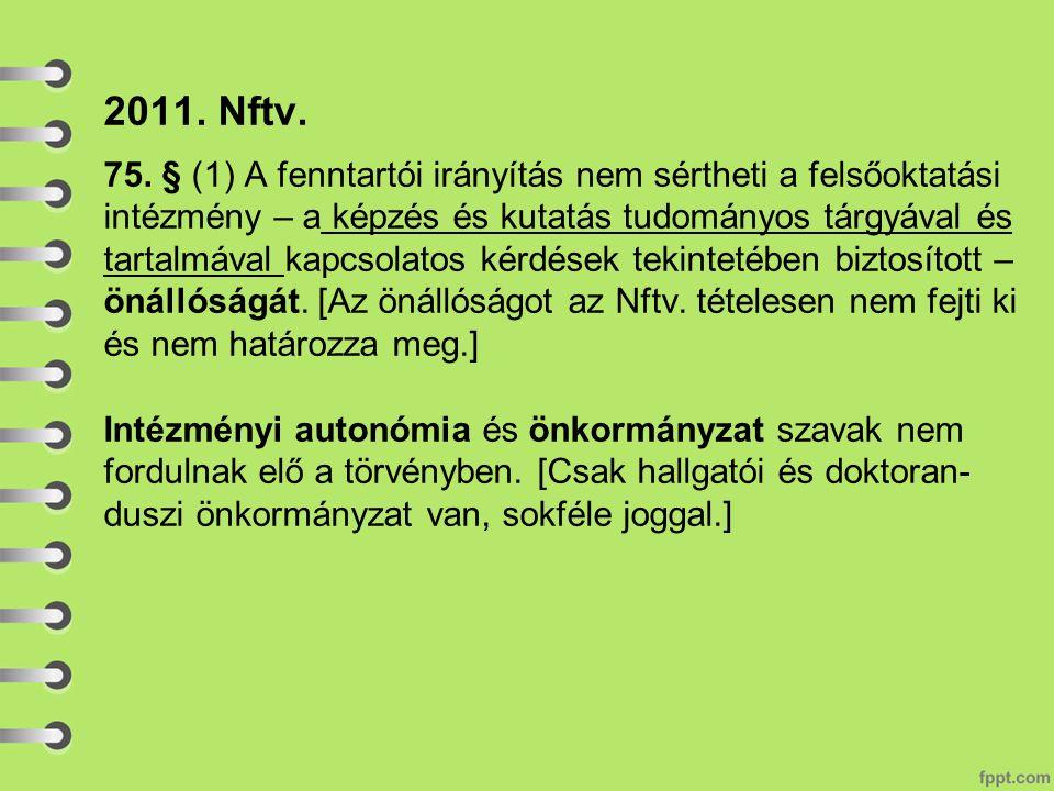 2011. Nftv. 75.