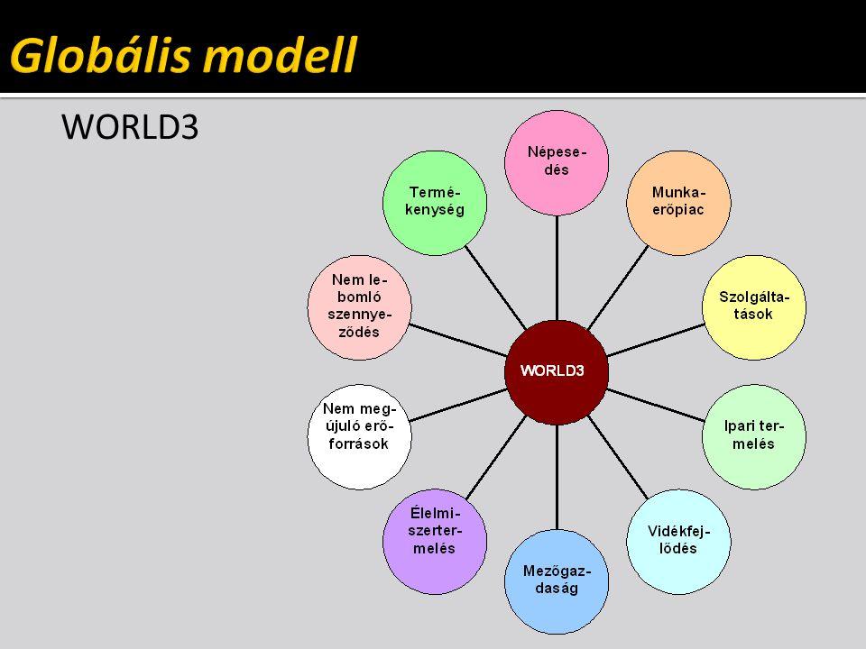  Csak parciális modellek léteznek  részrendszerek: regionális modellek (térbeli szétválasztás)  részfolyamatok: jelenségek, folyamatok (funkcionális szétválasztás)  Megoldási elvek és módszerek  analitikus módszer csak korlátozottan használható  dinamikus kapcsolat a részek között  jól definiált input/output változók  számítógépi (numerikus) módszerek
