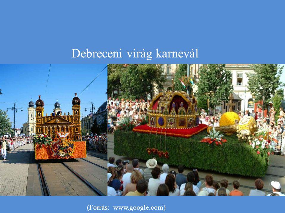 Debreceni virág karnevál (Forrás: www.google.com)