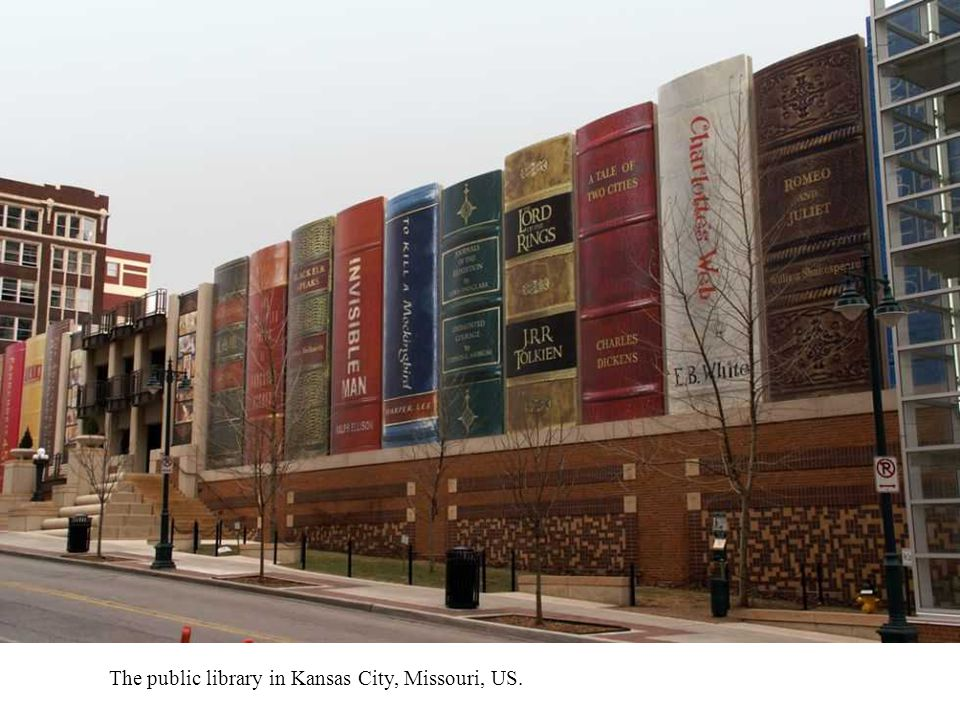 The public library in Kansas City, Missouri, US.