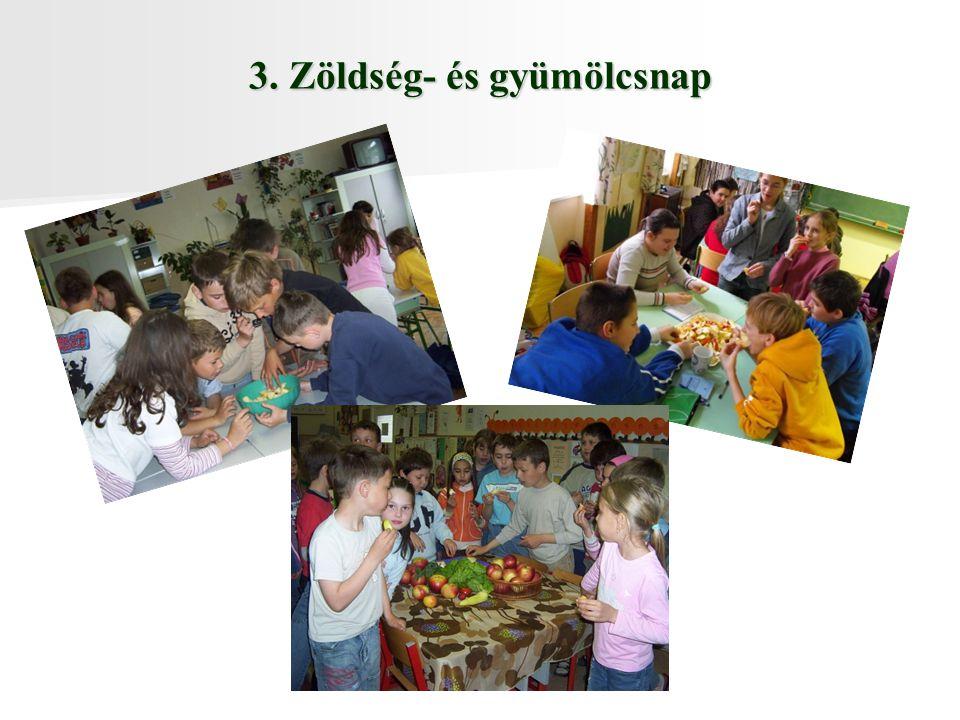 3. Zöldség- és gyümölcsnap